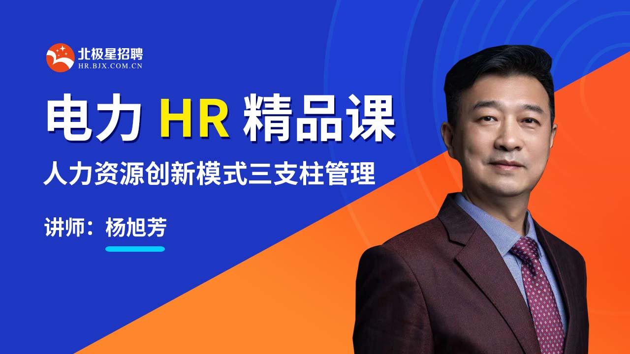 电力HR精品课 | 人力资源创新模式三支柱管理
